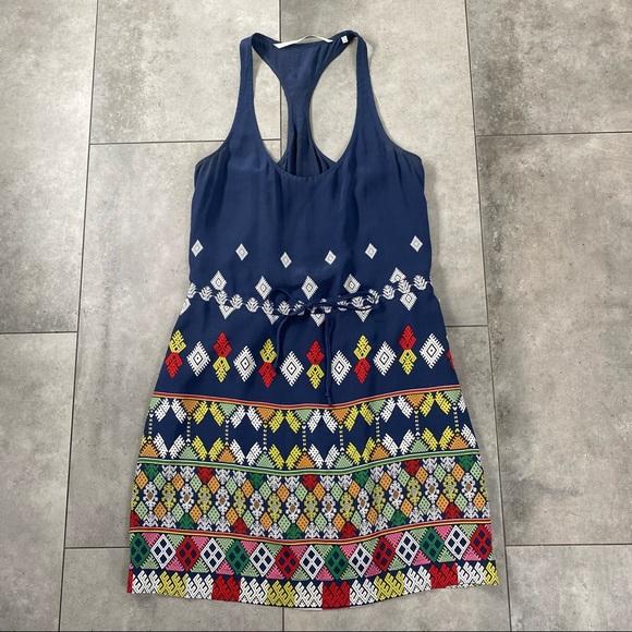 Twelfth street Cynthia Vincent silk blue dress S